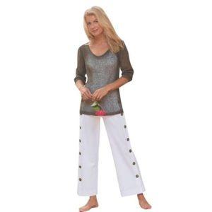 Soft Surroundings Newport Beach Pants, M (petites)